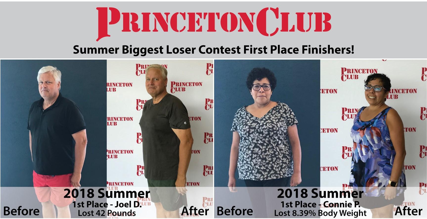 Biggest Loser Contest | Madison West | Princeton Club