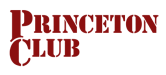 Large Princeton Club Logo in Red